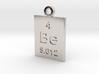 Be Periodic Pendant 3d printed