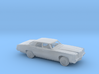 1/160 1972 Pontiac Catalina Sedan Kit 3d printed