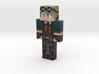 Dreghert | Minecraft toy 3d printed