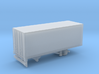 1-87 Scale Transit 19ft Trailer Single Axle 3d printed