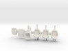 Toilet and urinals 01.  1:22.5 Scale 3d printed