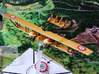 """Caudron G.4 3d printed Photo and paint job courtesy Neil """"Skafloc """" at wingsofwar.org"""