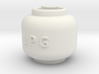 Printle Thing Propane Cylinder 01 - 1/24 3d printed