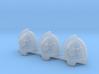 Wolfspear Aggressive pads x3 # L 3d printed