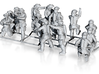 1/160 FireFighters set 1 3d printed