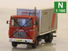 Kit for making a DSB truck from etchIT cap  3d printed