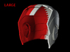 Iron Man Helmet - Head Right Side (Large) 1 of 4 3d printed CG Render (Head Right with Head Left)
