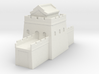 the great wall of china 1/350 tower s roof 3d printed