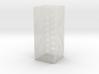 rock_vase_square_hexacore_export 3d printed