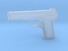 1:3 Miniature Tokarev Pistol 3d printed