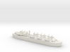 landing ship tank MK3 LST MK3 1/1200 HMS MESSINA  3d printed