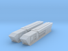 1000 Pointy-Eared Adversary Nacelles 2 3d printed