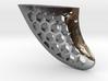 Fin pendant honeycomb 3d printed