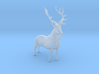 HO Scale Elk 3d printed This is a render not a picture