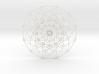 "6D Hypercube (Plastic Only) 7.5"" 3d printed"
