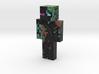 MÓJ OSTATECZNY SKIN | Minecraft toy 3d printed