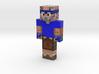 TruckpipeMC Blue | Minecraft toy 3d printed