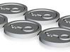 keyforge tokens set of 6 3d printed