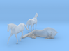 S Scale Horses 3 3d printed This is a render not a picture