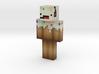 Grassmonster85 | Minecraft toy 3d printed