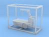 E-Karren Flachwagen mit Kran - 1:120 TT 3d printed