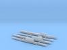 1/2400 Scale USSR Submarine Set 2 3d printed