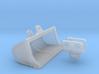 1:87 Cat 315C Tilt grading bucket 3d printed