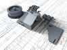1/144 Twin 20mm Oerlikon Powered MKV Mount x4 3d printed 3d render showing product parts