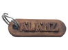 ALAITZ Personalized keychain embossed letters 3d printed