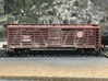N Scale Southern Pacific (SP) Style Stock Car Door 3d printed Finished model