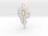World Of Warcraft Horde Pendant all materials 3d printed