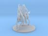 Desert Dragonborn Fighter on Unicorn Mount 3d printed