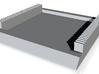 CoatingJig V01-25GroovesWithTray 3d printed