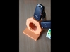 Nut car key holder 3d printed