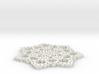 Mandala Lace 3d printed