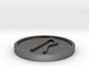 Raido Coin (Elder Futhark) 3d printed