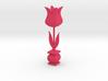 Tulip figure (scrollsaw/bandsaw) 3d printed