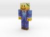 Declane | Minecraft toy 3d printed