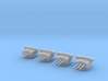 1/400 IJN 15.5cm / 60 3rd Year Type naval Gun Set 3d printed