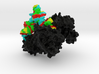 Threonyl-TRNA Synthetase Complexed with TRNA 3d printed