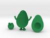 Avocado Man 3d printed
