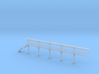 N Scale Tank Car loading Platform 5 End Section 3d printed