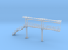 N Scale Tank Car loading Platform 2+stairs 3d printed