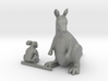 O Scale Koala Bear  and Kangaroo 3d printed This is a render not a picture
