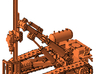 1/64th Ingersoll Rand type Tracked Rock Drill 3d printed