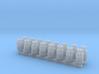 16 Milchkannen (N 1:160) 3d printed