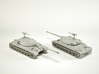 IS-7 Heavy Tank Scale: 1:200 3d printed