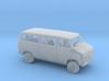 1/87 1971-77 Chevrolet G Van Split Door Kit  3d printed