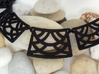 Trellis Statement Necklace - Ready to wear. 3d printed