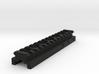 Top Picatinny Rail for Nerf Zombie Strike FlipFury 3d printed